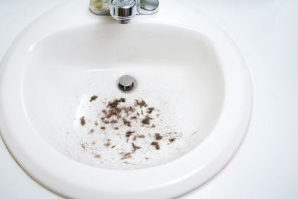 To reduce (or eliminate) clogged drains from hair, install drain filters or  strainers that will catch hair and other solids and only let water through.
